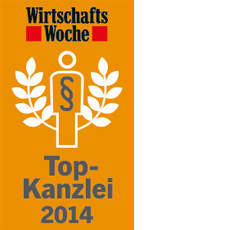 WIWO Award Top Anwalt 2014